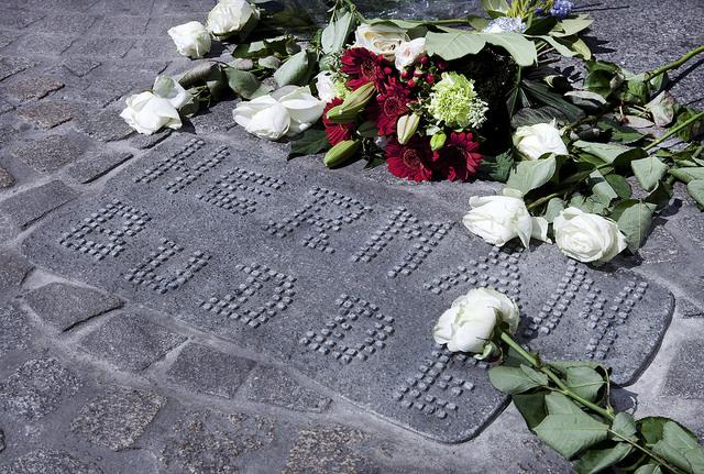 Amsterdam, Memorial Damslachtoffers 7 mei 1945