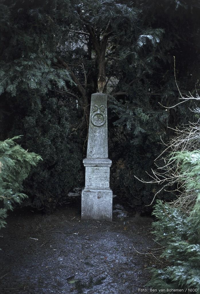 Utrecht, monument aan het Willem de Zwijgerplantsoen