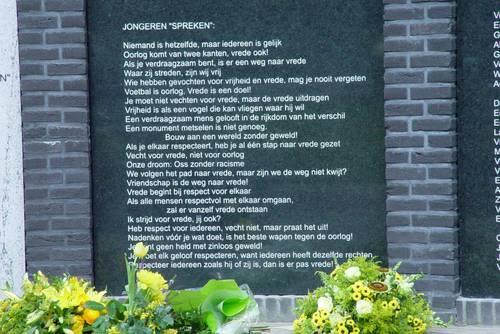 Oss, monument voor Vrijheid, Verdraagzaamheid en Vrede