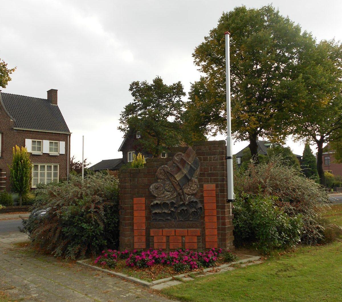 Tegelen, 'Ik Zal Handhaven' monument
