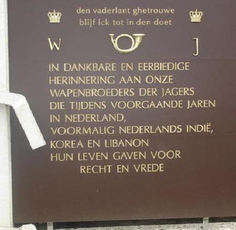 Schaarsbergen, 'Monument van de Grenadiers en Jagers' (foto: Kitty Harms)