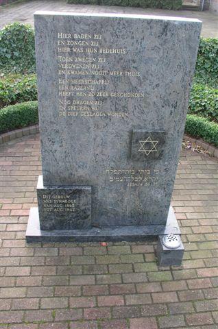 Hoogeveen, monument aan de Schutstraat