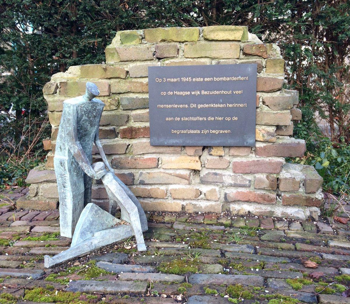 Voorburg, gedenkteken bombardement Bezuidenhout