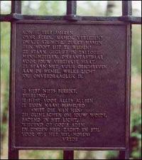 Vught, 'Monument op de Fusilladeplaats'