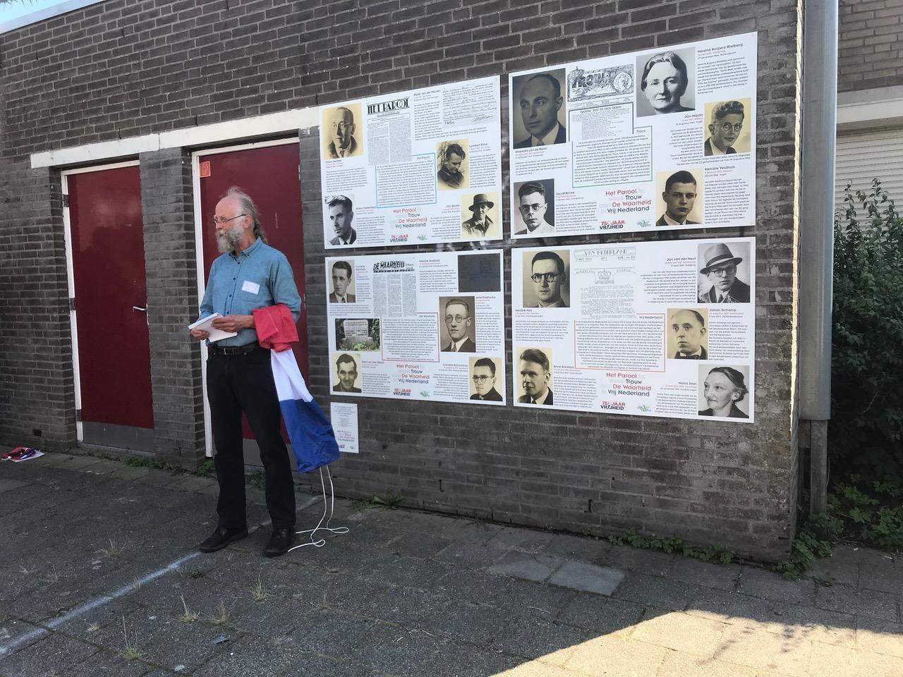 Amsterdam, verzetsmonument Gein3dorp