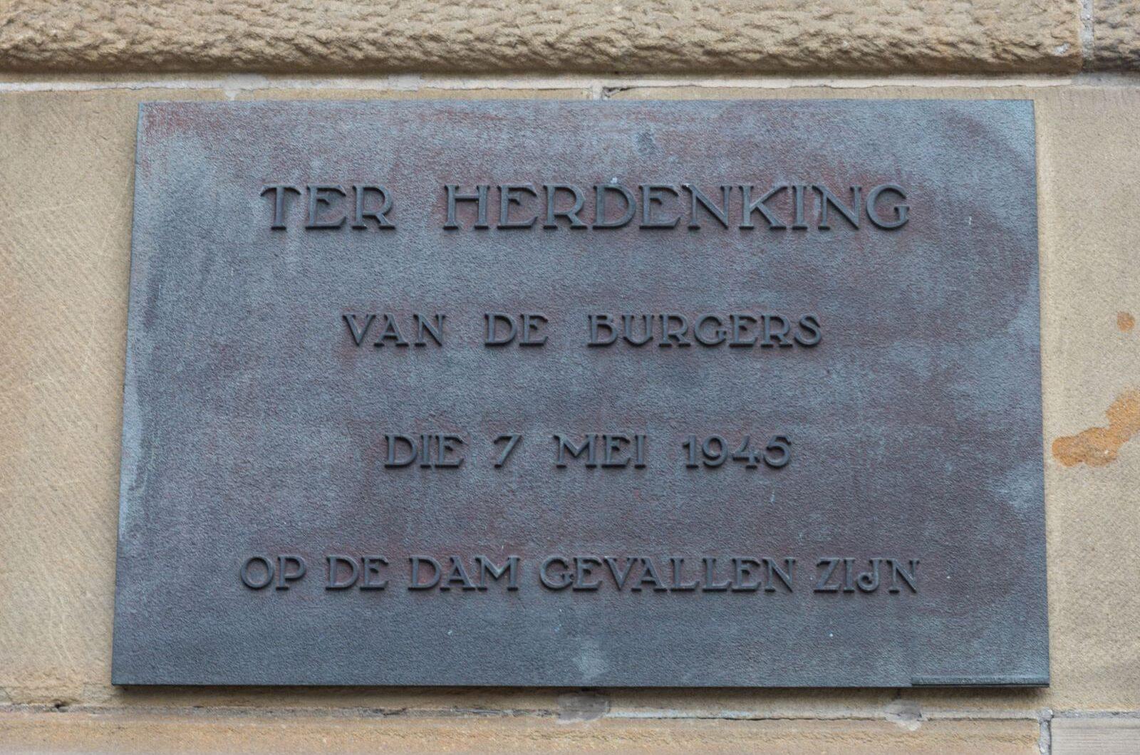 Amsterdam, '7 mei 1945'