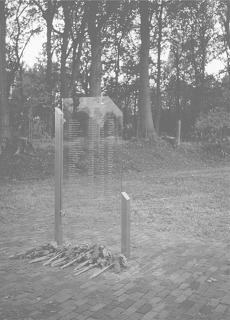 Noordwolde, 'Joods monument' (foto: Frits van Echten)