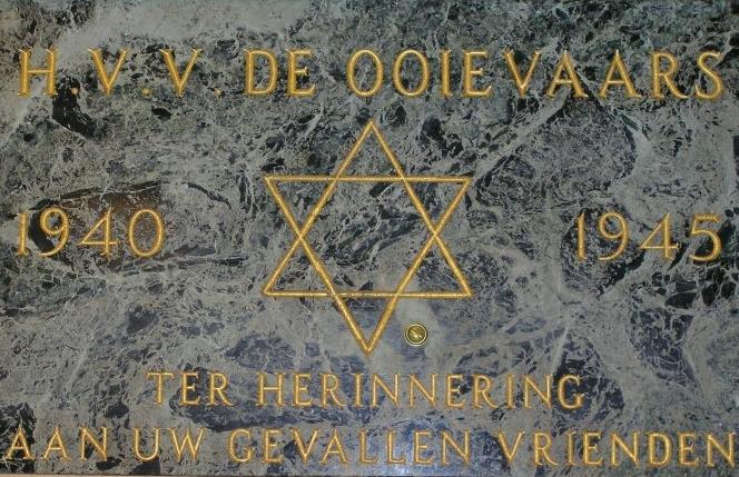 Den Haag, monument 'H.V.V. De Ooievaars'