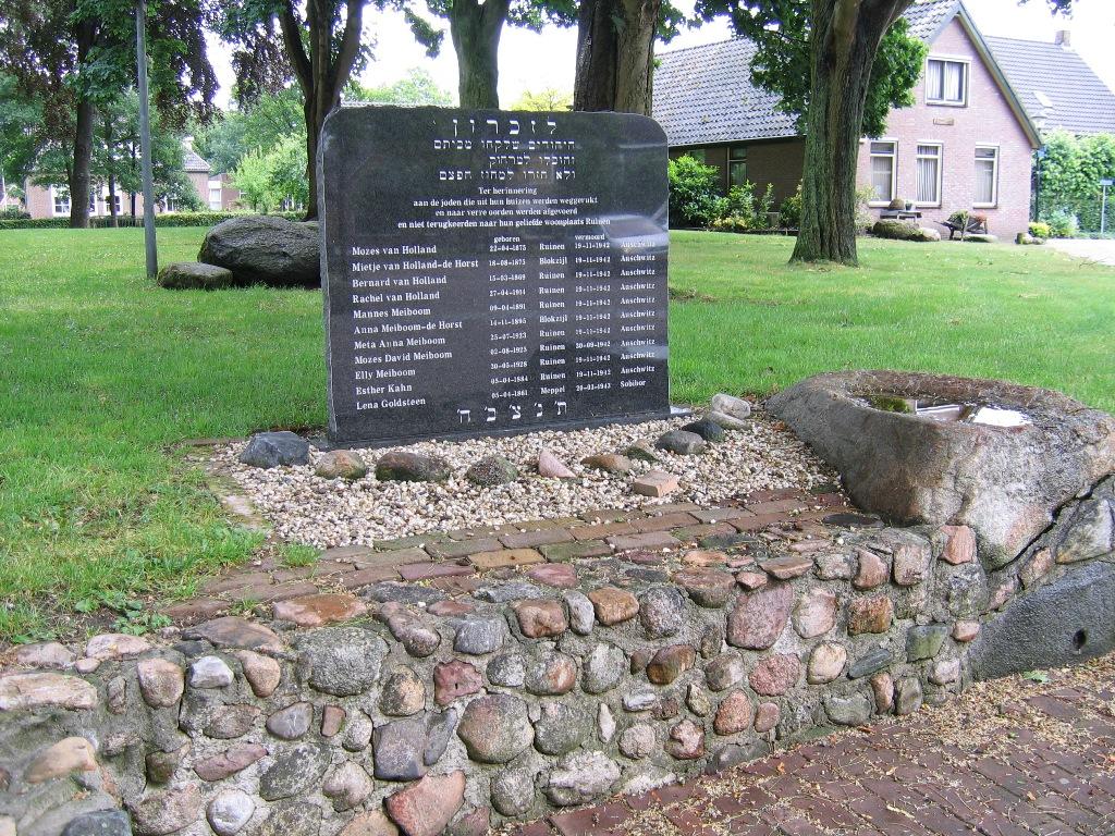 Ruinen, 'Joods monument' (foto: Steven Lindeboom)